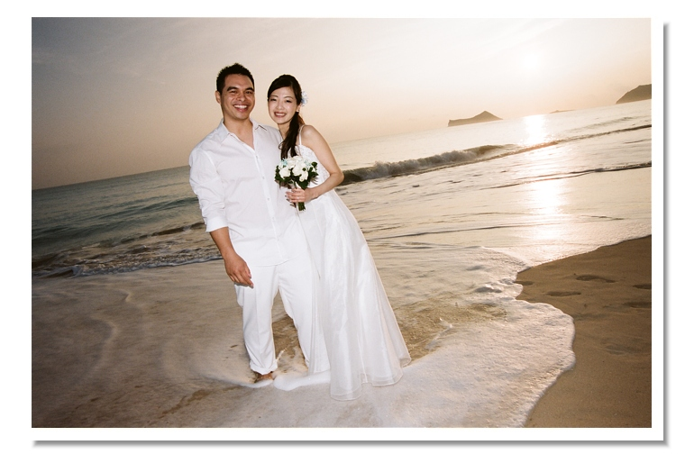 Sunrise Oahu Wedding
