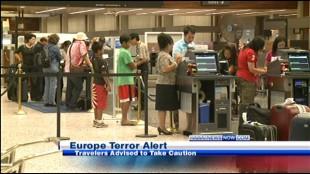Terrorist Alert not affecting Hawaii