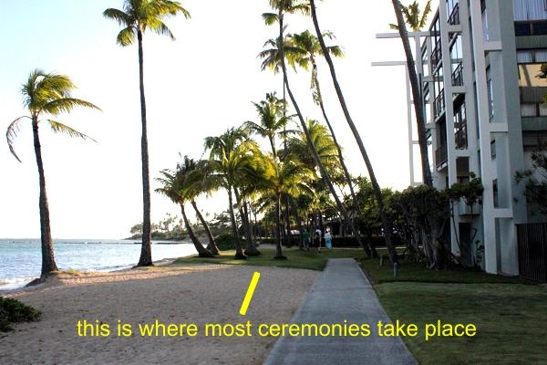Entrance-2 Wedding Location Review: Waialae Beach Park