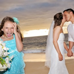 Kids and Hawaii Weddings.