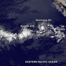 LATEST STORM WATCH:  Hurricane Gil Weakening but….