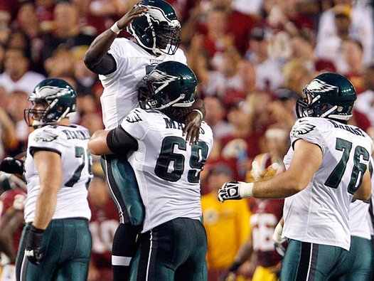 eagles-win-baby Eagles beat Redskins, 33-27!  FREE WEDDINGS FOR EVERYONE!