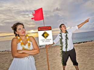 Federal Government Shutdown, No Effect On Beach Weddings in Hawaii