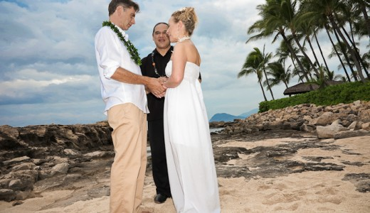 Beach Weddings in Hawaii are 100% legal!