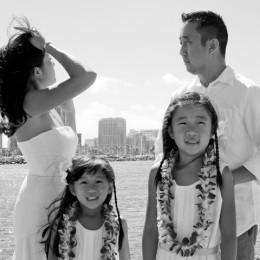 Surprise Vow Renewal on the Day of Hurricane Iselle