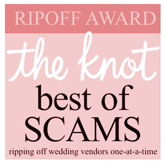 "scam-award THE KNOT SCAM:  Don't buy into their ""advertising opportunities"""