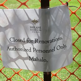 "ALERT!  Ko Olina Beach, aka ""Secret Beach"" temporarily closed! ~ NOW OPEN!"