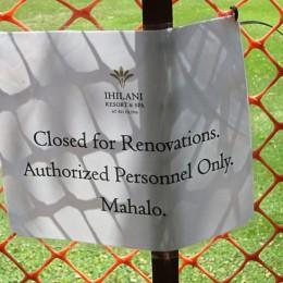 "ALERT!  Ko Olina Beach, aka ""Secret Beach"" temporarily closed! ~ NOW OPEN!"