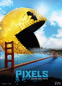 pixels_pacman.0-214x300 QUICK MOVIE REVIEWS:  Mission Impossible 5, Fantastic 4, Mr.Holmes, Ant-Man, Minions, Pixels, AND MOVIE PASS!