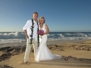 BIG WAVES ARE HERE!  GREAT FOR YOUR HAWAII WEDDING? I think so.