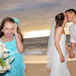 Kids and Hawaii Weddings.