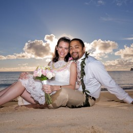 Sunrise Wedding: Evan and Rosemary tie the knot!