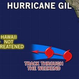 HURRICANE GIL:  So Far, Not a Threat to Hawaii
