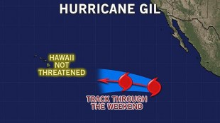 HURRICANE GIL:  So Far, Not a Threat to Hawaii