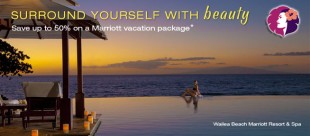 HAWAII TRAVEL DEAL ALERT!  Save around 50% on certain Marriott Hotels