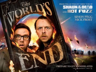 THE WORLD'S END:  Beer  + Robots + political statements = FAIL?  (spoilers)