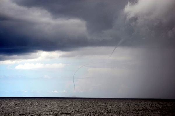 strange-clouds Funnel Cloud Spotted in Hawaii?