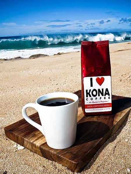 Kona-Coffee-Red-Bag SHAMELESS PLUG For My Kona Coffee Company!