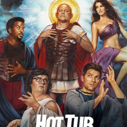 HOT TUB TIME MACHINE 2:  Sadly… a little stupid.