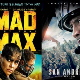 Movie Reviews: Mad Maxx and San Andreas