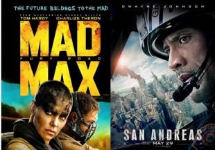 Movie Reviews: Mad Maxx and San Andreas
