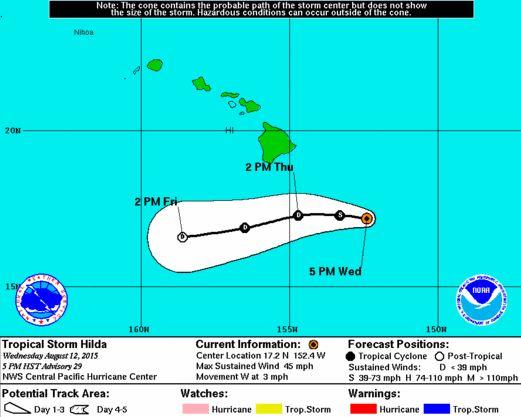 Hilda-moving-west Hurricane Hilda is gone....