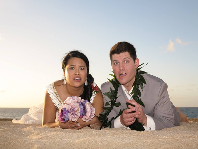 confused-bride Logistics!  What Happens On the Day of Your Wedding in Hawaii!